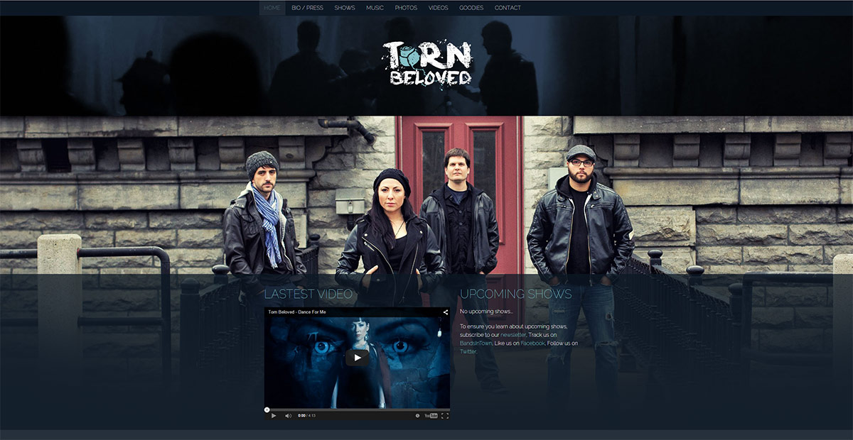 Torn Beloved - Website